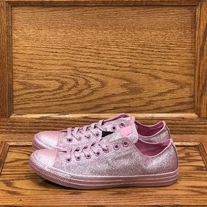Converse CTAS Ox Glitter Pink Shoes